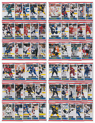 2010-11 Score Rookie Traded 56 Card Lot All Different See Scans NHL Hockey