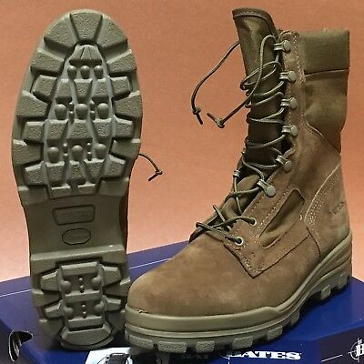 6586bd81822 BATES WARRIOR MILITARY Combat Boot Coyote Brown Olive Suede Leather 11M  Gore-Tex
