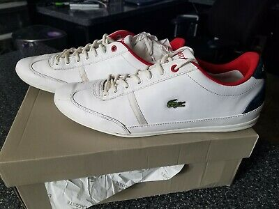 2c1987aa5 Lacoste Misano SPORT 118 Sneaker white 7-35CAM0083-042 mens shoes size 11.5