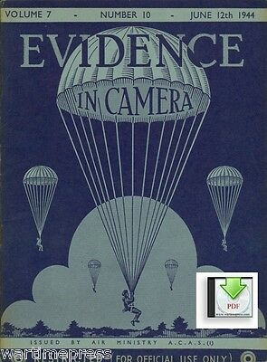 CD File 4 Issues 1944 Evidence in Camera - Recon Intel - Tirpitz Normandy V2