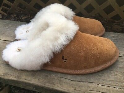 85401878bcc94 KOOLABURRA BY UGG Womens Milo Slippers Shoes Chestnut Brown Size 10 EUC NICE