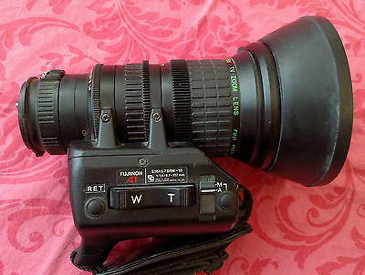 Fujinon   Hot  Shoe  Aspheric  16X  Tv  Macro  Zoom  Lens  S16X6.7Brm-18