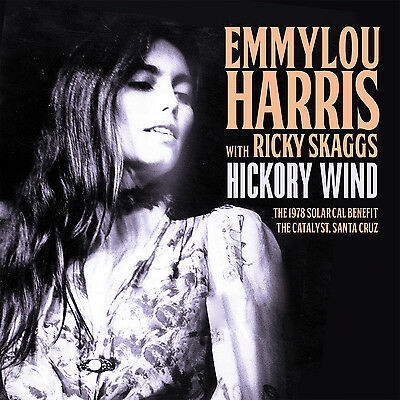 EMMYLOU HARRIS New 2019 UNRELEASED ANTI NUCLEAR LIVE 1978 CONCERT CD