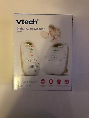 VTech DM111 Safe & Sound Digital Audio Baby Monitor w One Parent Unit -1868