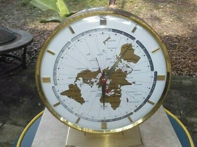 Kundo Kieninger & Obergfell World Clock - Quartz Made in Western Germany