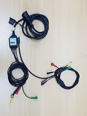Zoll Step Patient Cable For 12-Lead ECG With Limb-Lead And V-Lead Cables (7 Ft)