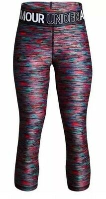 Under Armour UA Athletic Leggings Compression Tie Die Youth XL NWT MSRP $35