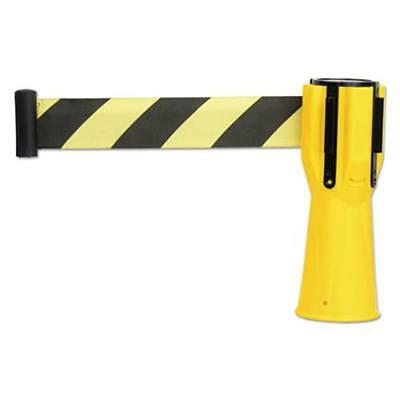 "Tatco 25950 Safety Cone Topper Belt, 3 1/2"" X 9 Ft, Yellow/black, Plastic/nylon"