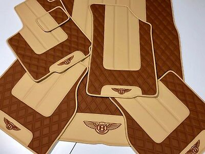 Bentley Continental GT, GTC, Flying Spur, Mulsanne floor mats, trunk mat 2006-18