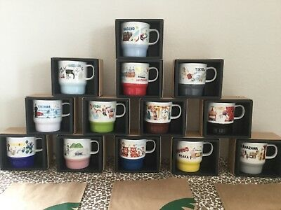 304edb526d3 LOT OF 13 Starbucks Mugs, JAPAN GEOGRAPHY Series, «Our Daily Story ...
