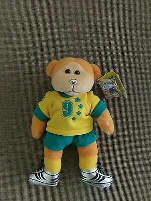 Beanie Kids - Harry The Soccer Player Bear ***Mutation*** (Mwmt)