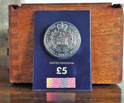 2017 House of Windsor £5 Five Pound Coin Brilliant Uncirculated, Unreleased BUNC