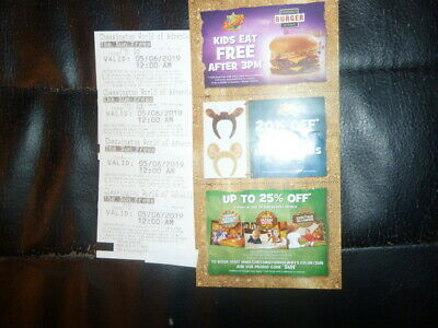 Four Chessington Card Tickets For Wednesday 5Th June 2019 Admits Adult Or Child