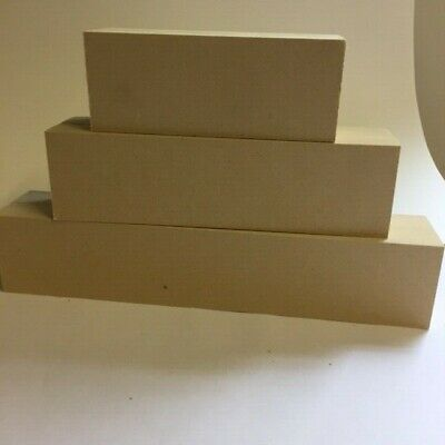 MDF stacking blocks 3 tiers 36mm Professional quality MDF, Chunky