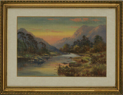 Alfred Harford RWA (1848-1915) - Late 19th Century Oil, River Valley