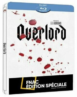 OVERLORD Steelbook Blu Ray Edition FNAC NEUF SOUS BLISTER