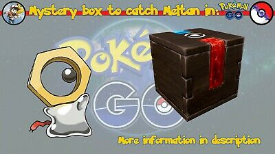 [Mystery Box] Meltan's Box on your Pokémon Go account! (POSSIBLE SHINY)