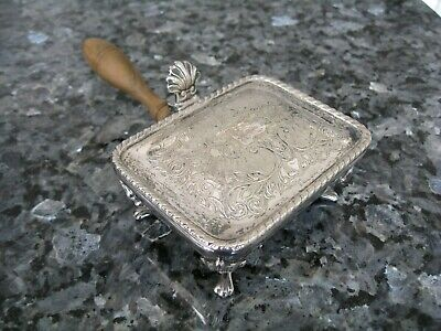 Vintage Silver Plated Silent Butler Crumb / Ash Catcher PH Vogel & Co England