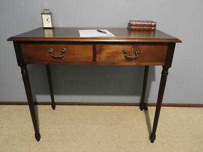 ANTIQUE VINTAGE FRENCH PROVINCIAL WRITING DESK HALL CONSOLE DISPLAY TABLE 1920s