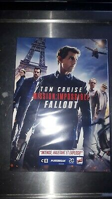 Mission Impossible Fallout Dvd  Coffret  Neuf Sous Blister