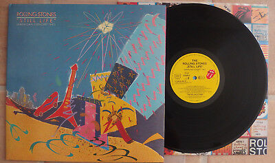 65ae60a8 The Rolling Stones - Still Life RARE NM Condition GER Press Incl. Orig.  Sticker