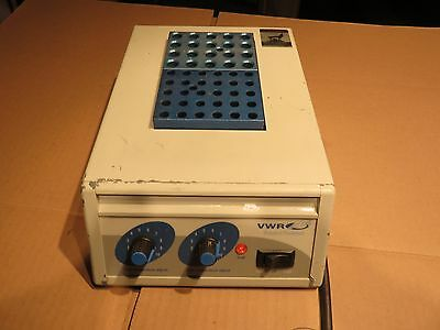 VWR Scientific 949031 Dry Bath Incubator  with 20 + 30 place  heatblocks