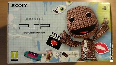 CONSOLE PLAYSTATION SONY PSP SLIM & LITE Limited Little Big Planet