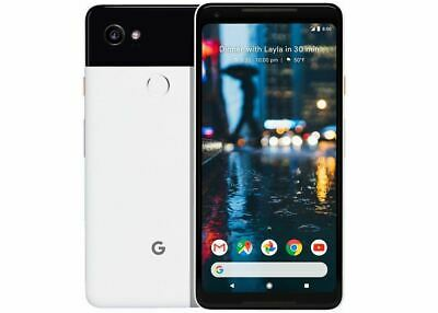 "New *UNOPENED* Google Pixel 2 XL 6.0"" Smartphone USA/GLOBAL Black&White/64GB"