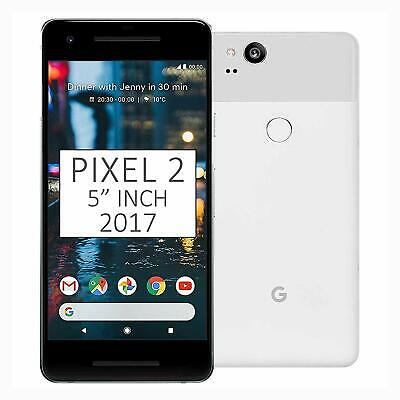 "New *UNOPENED* Google Pixel 2 5.0"" Smartphone USA/GLOBAL Clearly White/64GB"