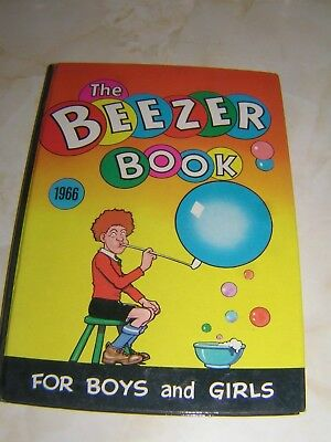 The Beezer Book Annual - 1966 - Very good condition, no marks, spine excellent