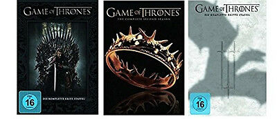Game of Thrones Season Season Tv Series 1 2 3 Collection 15 DVD Package New
