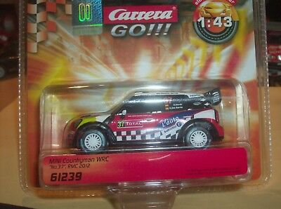 Carrera Go 61239 Mini Coutryman WRC Nr. 37 in OVP
