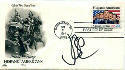 AUTHENTIC legendary singer Jose Feliciano signed FDC