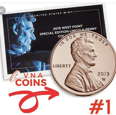 Special Edition 2019 W Lincoln Penny West Point Mint Proof....FOR COLLECTORS
