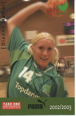 DIANNE MOLLER *VIBORG HK* Handball Player 6x4 Signed Autographed Photo