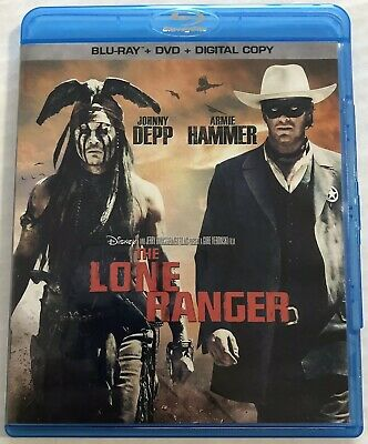 The Lone Ranger (Blu-ray, Disney, 2013) Canadian