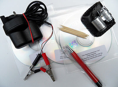 Coin Cleaning by Electrolysis  `Pro - Electrol` Collection 3CDs + Micros. Plus!