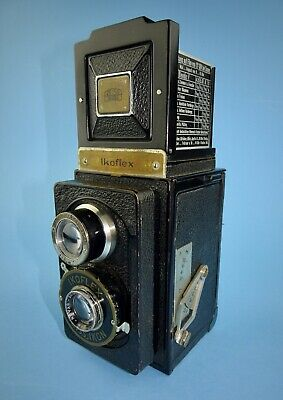 Early pre-war Zeiss Ikon Ikoflex 850/16 TLR camera in excellent condition