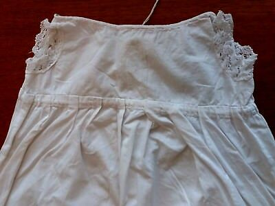 Victorian/Edwardian Long White Christening Petticote