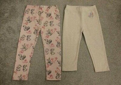 Girls 3 Years 36 Months Gap Trousers Leggings Bambi Disney