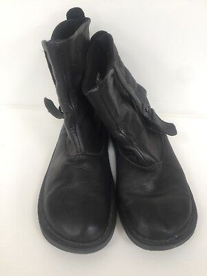 brand new a9905 a55e1 DR MARTENS TANA Black Leather Boots Size 6 Good Condition ...