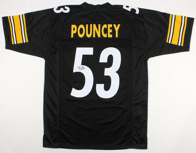 7d23793c652 Maurkice Pouncey Signed Steelers Jersey (JSA COA) Pittsburgh Center  (2010-Now)