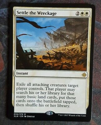 Mtg settle the wreckage   x 1 great condition