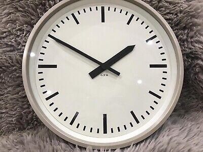 Vintage GENTS White Faced GPO Post Office Wall Clock