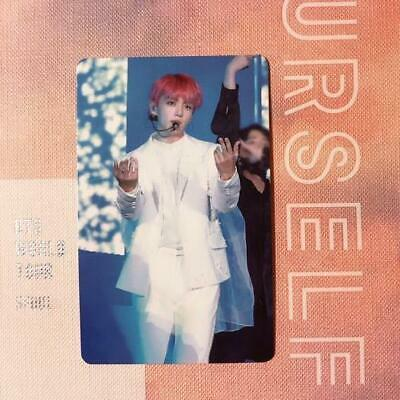BTS WORLD TOUR LOVE YOURSELF DVD ver . JUNGKOOK official photocard PC only