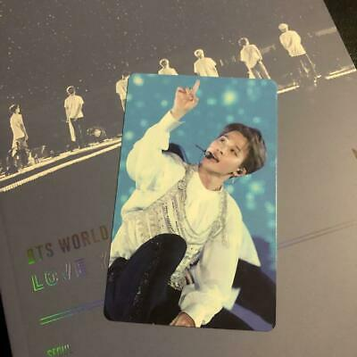 BTS WORLD TOUR LOVE YOURSELF DVD ver . JIMIN official photocard PC only