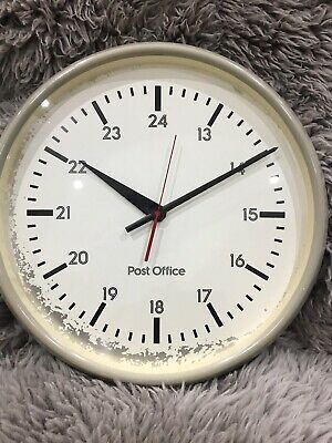 GPO Clock Post Office Wall Station industrial Vintage Antique Retro