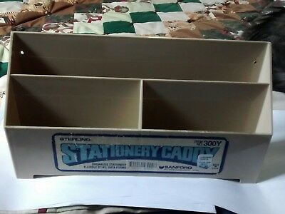 Sterling Stationery Desk Rack Envelopes Letters Writing Accessory Caddy