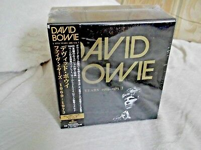 DAVID BOWIE - FIVE YEARS ; very rare Japanese 12-CD Box Set ; New & Sealed