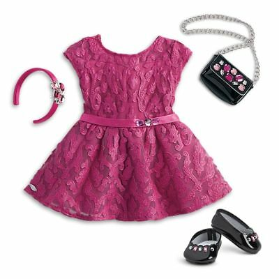 American Girl Truly Me- Merry Magenta Outfit for 18-inch Dolls